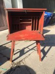 Monterey Red Writing Desk