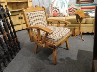 Monterey Wagon Wheel Arm Chair
