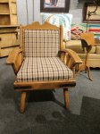 Monterey Wagon Wheel Arm Chair Thumbnail