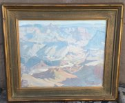 Ralph Holmes - Grand Canyon Painting  Thumbnail