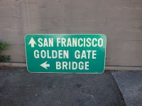 San Francisco Golden Gate Bridge Sign