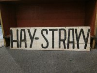 Hay Straw Sign Thumbnail